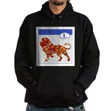 L is for Lion.png Hoodie