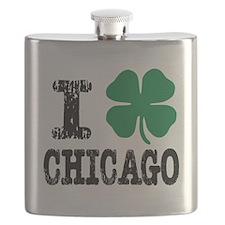 Chicago Irish Flask