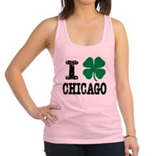 Chicago Irish Racerback Tank Top