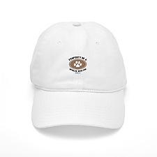 Bich-poo dog Baseball Cap