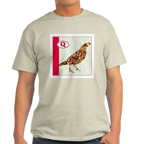 Q is for Quail.png T-Shirt