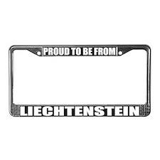 Liechtenstein License Plate Frame
