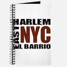 """East Harlem """"El Barrio"""" Squar Journal"""