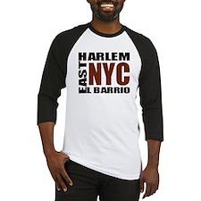 "East Harlem ""El Barrio"" Squar Baseball Jersey"