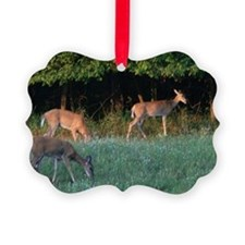 Grazing Deer Ornament