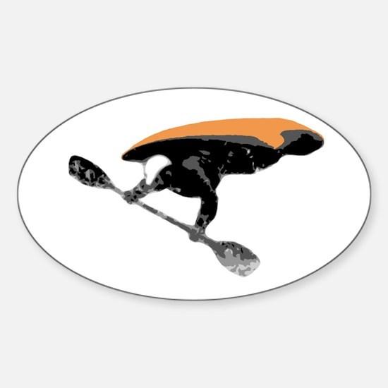 Air-Kayak Oval Decal