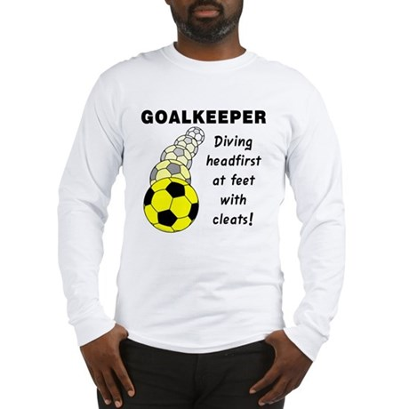 Soccer Goalkeeper Long Sleeve T-Shirt