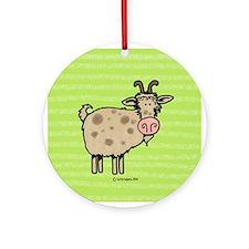 Goat VI Ornament (Round)