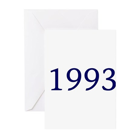 1993 Greeting Cards (Pk of 10)