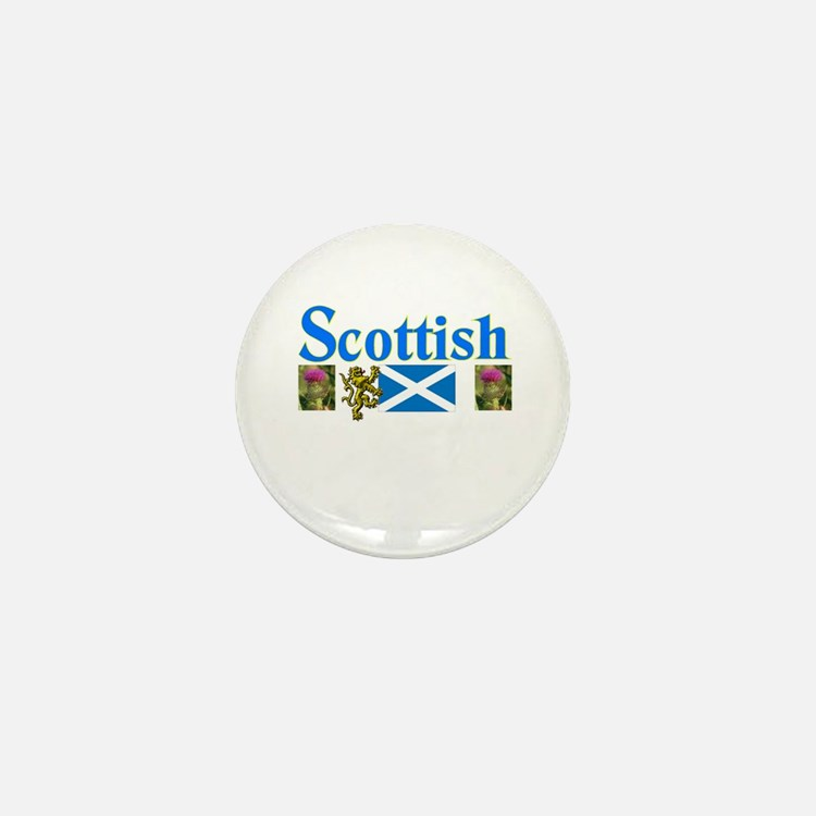 All Things Scottish Mini Button