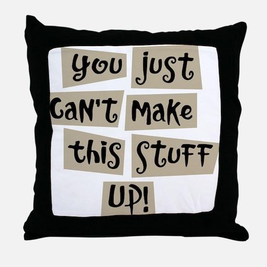 Stuff Up! - Throw Pillow