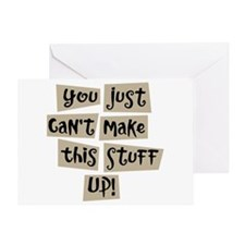 Stuff Up! - Greeting Card