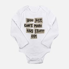 Stuff Up! - Long Sleeve Infant Bodysuit