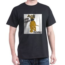 N Brindle Trouble Pup T-Shirt