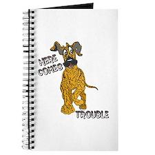 N Brindle Trouble Pup Journal