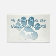Labrador Grandchildren Rectangle Magnet (10 pack)
