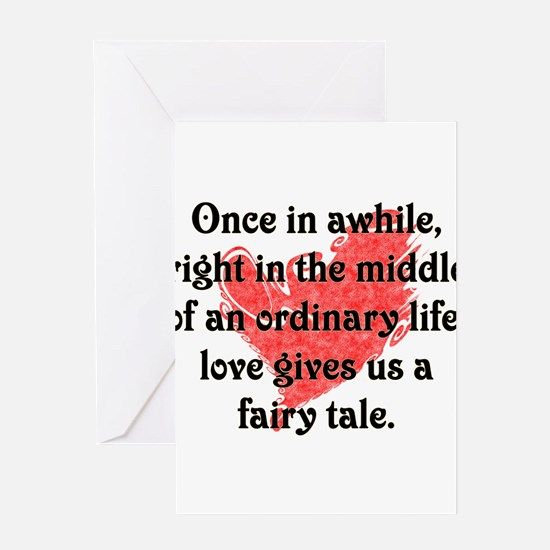 Fairy Tale Love Greeting Cards