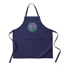 Purple Iris Apron (dark)