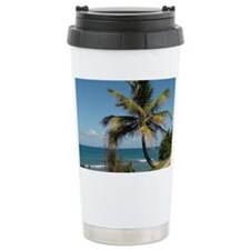 Leaning Palm Tree Travel Mug