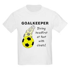 Soccer Goalkeeper Kids T-Shirt