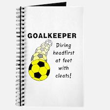 Soccer Goalkeeper Journal