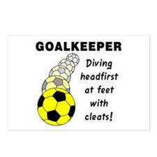 Soccer Goalkeeper Postcards (Package of 8)