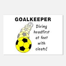 Soccer Goalkeeper Postcards (Package of 8)