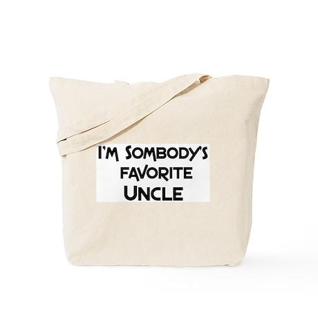 Favorite Uncle Tote Bag