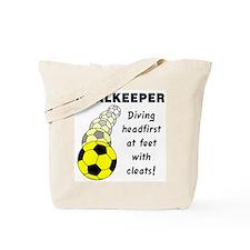 Soccer Goalkeeper Tote Bag