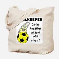 Soccer Goalkeeper Tote Bag