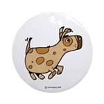 Doggy Ornament (Round)