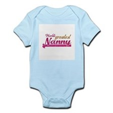 Worlds Greatest Nanny Body Suit