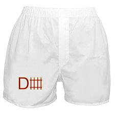 Defense red yellow Boxer Shorts