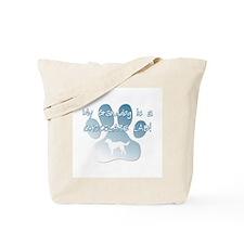 Chocolate Lab Granddog Tote Bag