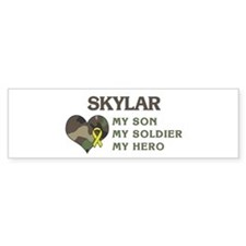 Skylar: My Hero Bumper Car Sticker