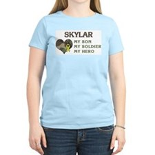 Skylar: My Hero Women's Pink T-Shirt