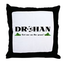 Drohan Soccer Throw Pillow