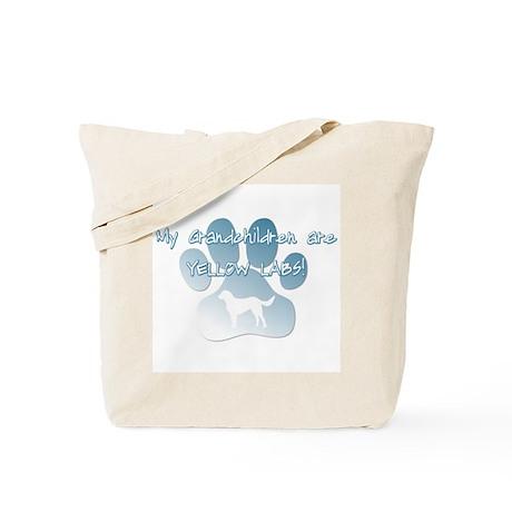 Yellow Lab Grandchildren Tote Bag