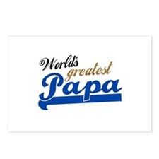 Worlds Greatest Papa Postcards (Package of 8)