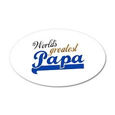 Worlds Greatest Papa Wall Sticker