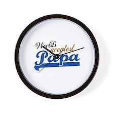 Worlds Greatest Papa Wall Clock