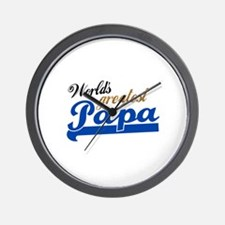 Worlds Greatest Papa Wall Clock