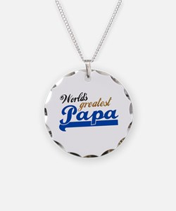 Worlds Greatest Papa Necklace