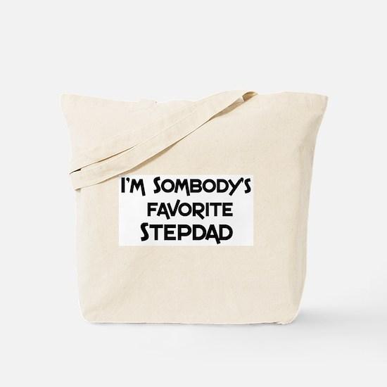 Favorite Stepdad Tote Bag