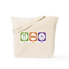 Eat Sleep Bridge Tote Bag
