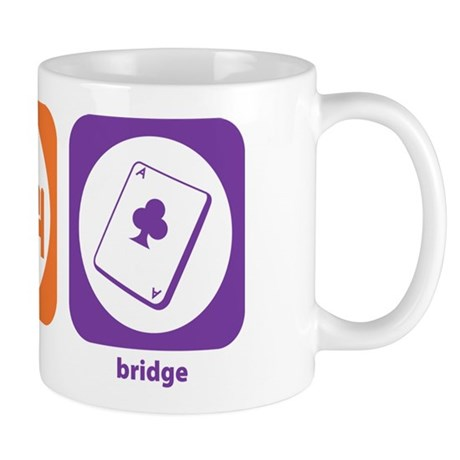 Eat Sleep Bridge Mug