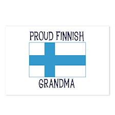 Proud Finnish Grandma Postcards (Package of 8)
