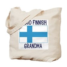 Proud Finnish Grandma Tote Bag