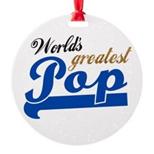 Worlds Greatest Pop Ornament
