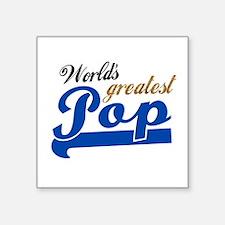 Worlds Greatest Pop Sticker